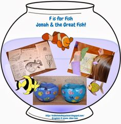 Preschool Alphabet: F is for Fish