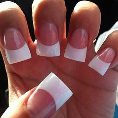 @samanth9lee #nails #frenchtips #whitetips #frenchmanicure Nails Design, Nail Art Designs, Duck Nails, Dragon Claw, Double Team, Long Acrylic Nails, Kiss Makeup, French Nails, Claws