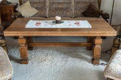 70er Jahre Wohnzimmertisch Massiv Eiche 56 cm h x 150 cm b x 71 c in Niedersachsen - Bispingen   Couchtisch gebraucht kaufen   eBay Kleinanzeigen