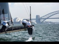 ▶ ORACLE TEAM USA opens training in Sydney - YouTube