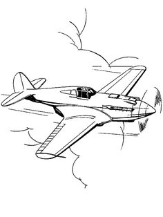F16 Jet Fighter Airplane Coloring Page - Download & Print ...