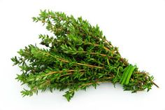 Oily herbs like thyme can be tied loosely together with string and hung in the open air. Oily herbs like thyme can be tied loosely together with string and hung in the open air. Healing Herbs, Medicinal Plants, Food Facts, Preserving Food, Fruits And Veggies, Vegetables, Food Storage, Good To Know, Cooking Tips