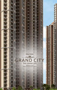 Prateek Grand City is a residential project offers luxurious apartments.