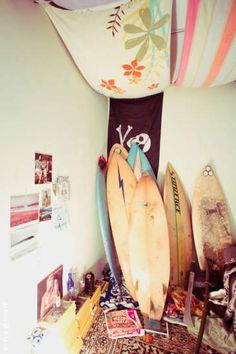 Summer surf shack.