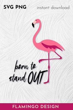 Flamingo Logo, Flamingo Craft, Flamingo Decor, Flamingo Birthday, Flamingo Party, 4th Birthday, Birthday Cake, Flamingo Illustration, Diy Cake Topper