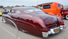 1951 Mercury: rollinmetalart:Badd 51 is the custom 1951 Mercury of Randy...