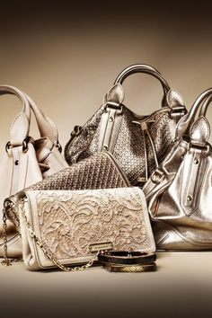 Burberry Rose Gold Accessories - Fashion and Love
