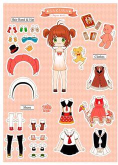 Sakura Paper Doll by ispan0w0.deviantart.com on @DeviantArt