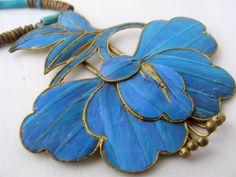 Kingfisher Blue necklace