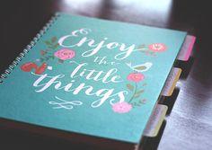 prayer journal with tabs: scripture, prayers, journaling