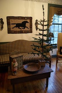 ♥!!! Truly love this, Twig trees are the best. Miss this style of decorating!!!