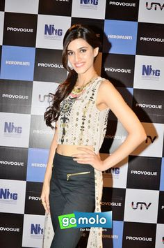 Kriti Sanon at the Promotion of Hindi movie 'Heropanti' at PVR Cinemas in Mumbai