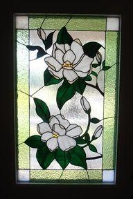 Isabelle Ravet | Magnolia Blossoms - Delphi Stained Glass