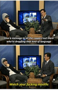 Loved this interview XD