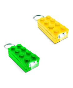 Playvision Green & Yellow LEGO Key Light Set