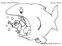 jonah and the whale coloring pages for kids - 1000 images about bible story stuff kids on pinterest