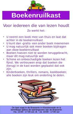 Boekenruilkast – Wijk Kloosterveen