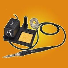 60 Watt Soldering Station /w Remove Tip Fast Heat Temperature Control DIY Crafts