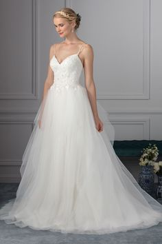Wedding gown by Beloved by Casablanca Bridal.