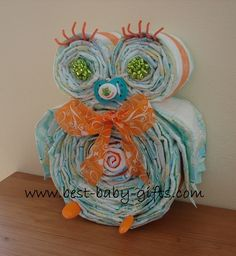 Diaper Owl Tutorial Pinned by www.myowlbarn.com