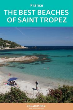 Check out our list of the very best beaches in Saint Tropez and Ramatuelle, from popular destinations for movie stars to secluded hide-aways. St Tropez France, San Tropez, Travel Guides, Travel Tips, Europe Destinations, South Of France, French Riviera, France Travel, Wanderlust Travel
