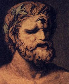 """Polyphemus: gigantic one-eyed son of Poseidon and Thoosa in Greek mythology, one of the Cyclopes. His name means """"much spoken of"""" or """"famous"""".   Telemus warned the Cyclops Polyphemus that the giant would lose his sight to a man named Odysseus."""