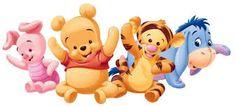 Resultado de imagen de winnie pooh bebe cumpleaños bienvenidos