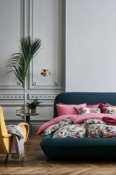 Blomstermønstret sengesett - Hvit/Blomstret - | H&M NO
