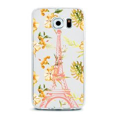 Floral Summer Paris Eiffel Tower Flower