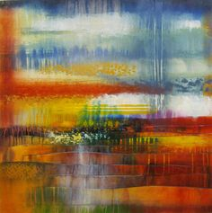 "Josiane Childers at Mirada Fine Art, Quiet Calm, Acrylic on Canvas, 40"" x 40"""