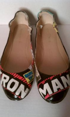 Custom Iron Man shoes
