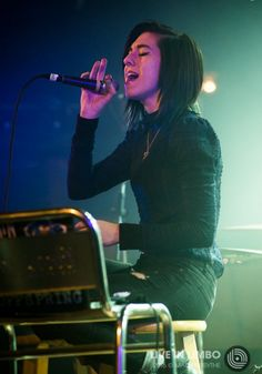 """Grimmie Updates on Twitter: """"Christina performing in Toronto 