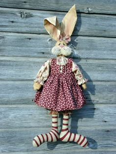 CF162 Molly McGregor PDF E-Pattern Cloth Rabbit Doll Sewing Pattern. $9.00, via Etsy.