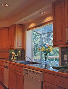 Windows Kitchens Greenhouse Prices | Kitchen greenhouse window at counter height