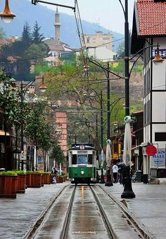 BURSA The Province, Istanbul, Coast, Street View, City, Places, Trains, Cities, Train