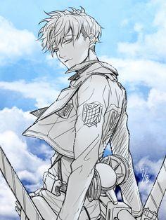 Tags: Anime, Chiaki (Pixiv4784713), Shingeki no Kyojin, Nanaba (Shingeki no Kyojin), Reverse Trap
