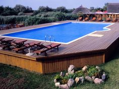 Nowadays, in times when you plan to build a deck around your above ground pool, you can make use of the free above ground pool deck plans that can be available online. Well, building a deck around the pool has always been a serious issue for modern homeowners, especially those who care a lot about their swimming pool. Some people might say that having it built by the professional will solve this problem. Well, what about the cost, then?