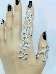 Image result for two finger ring chain