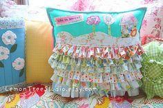 Ruffle Hill Pillow | Flickr - Photo Sharing!