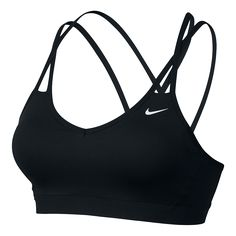 Womens Nike Pro Indy Strappy Bra If you love low-impact, high-energy training, the Womens Nike® Pro Indy Strappy Bra just might be your perfect fit! Youll feel great in this lightweight support bra Nike Free Shoes, Nike Shoes Outlet, Shoe Outlet, Nike Running, Nike Sport Bh, Nike Sports Bras, Nike Free Runners, Moda Fitness, Zumba