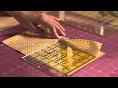 A Quilting Essential - How To Cut Strips Accurately - 24 Blocks