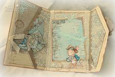 Stempeleinmaleins: Pocketfold (Приглашение) карты / карты Pocketfold приглашение