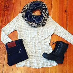Snow Day Essentials. #hurryupspring #ootd