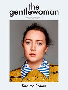 Best Magazine Covers 2015 - The Gentlewoman - Saoirse Ronan