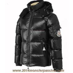 Pas Cher Doudoune Moncler Himalaya Noir Brillant Doudoune Moncler Homme,  Veste Anorak, Plumes, 85aa768ac5b