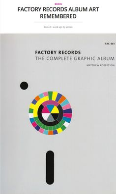 Today on periodicult.com: Factory Records: The Complete Graphic Album, reviewed.