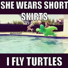 try to beat that kim and kanye i bet you can't fly turtles
