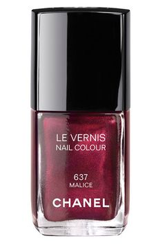 Best Holiday Nail Polishes 2012 - Chanel Le Vernis in Malice, $26