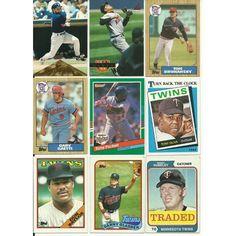 HUGE 75 DIFFERENT TWINS cards lot RCs Puckett Hrbek Gaetti Bush Gladden Viola Listing in the 1980-1989,Lots,MLB,Baseball,Sports Cards,Sport Memorabilia & Cards Category on eBid United States | 147730167