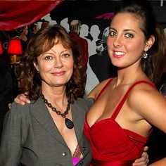 Look of the Day photo | Susan Sarandon and Eva Amurri (mother and daughter)